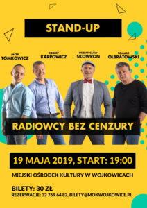 Już 19 maja 2019 w Miejskim Ośrodku Kultury w Wojkowicach