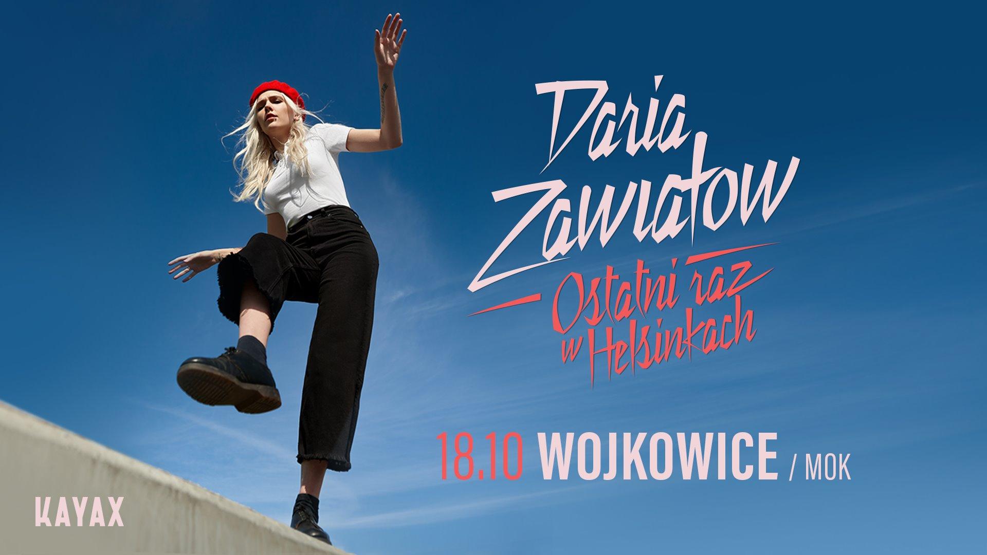 Slider na koncert Darii Zawiałow w MOK Wojkowice