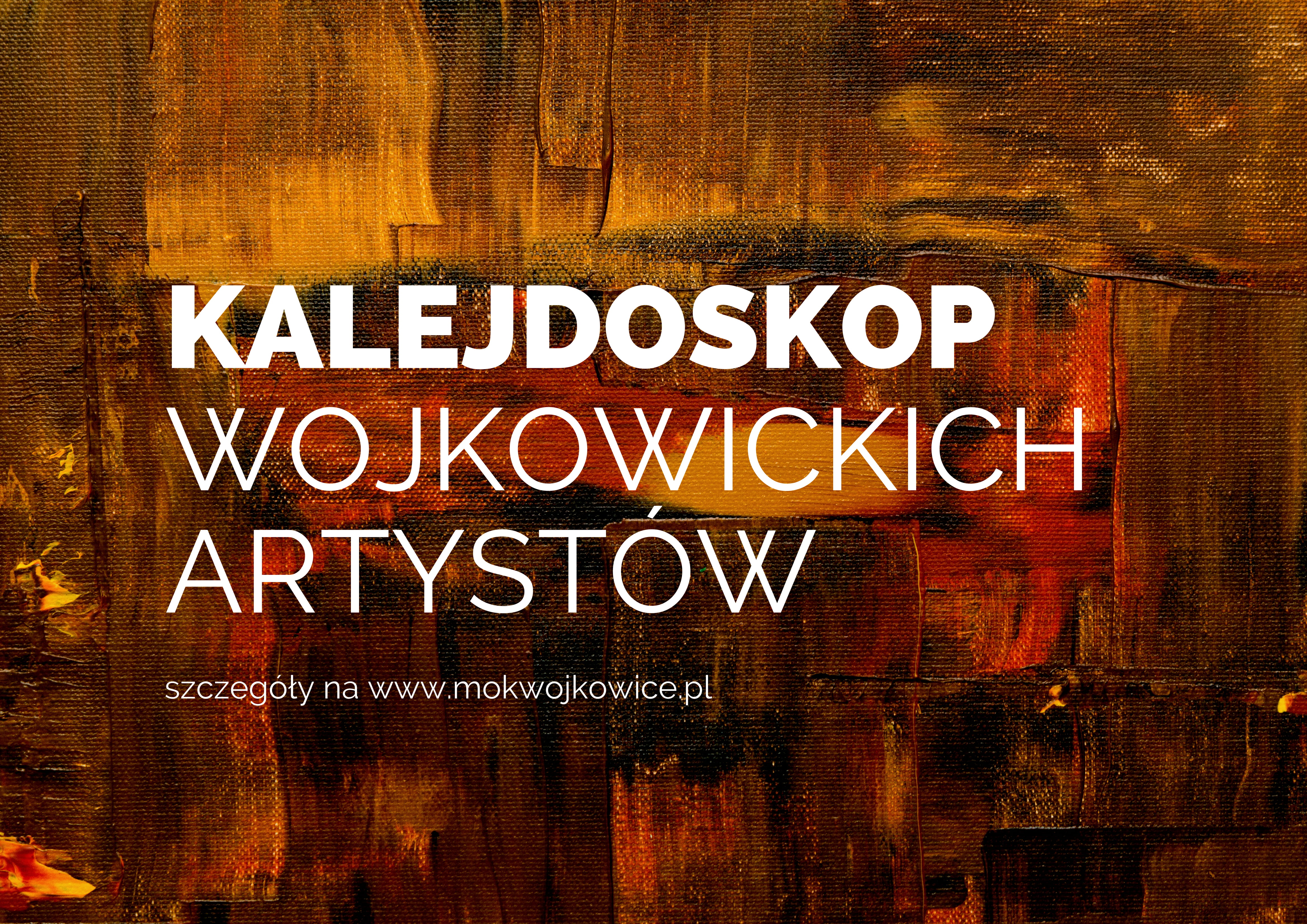 slider do wydarzenia kalejdoskop wojkowickich artystów