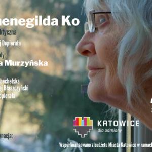 Plakat do projekcji spektaklu sfilmowanego Hermenegilda Ko